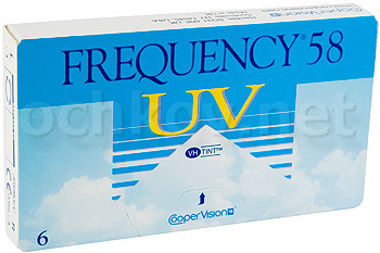 Контактные линзы CooperVision Frequency 58 UV