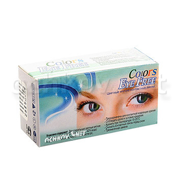 Контактные линзы G&G Crazy Colors Eye Free