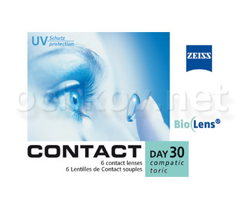 Контактные линзы Carl Zeiss Contact Day 30 Compatic Toric