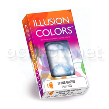 Контактные линзы Belmore Contact Illusion Colors Shine