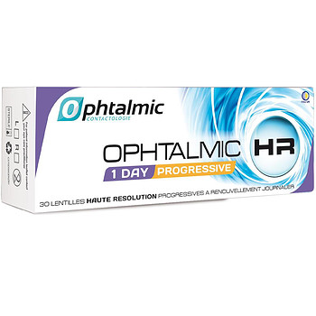 Контактные линзы Ophtalmic Ophtalmic HR 1 Day Progressive
