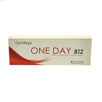 Контактные линзы CertifEye Certifeye One Day B12