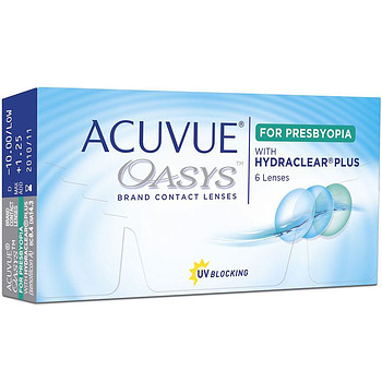 Контактные линзы Johnson & Johnson Acuvue Oasys for Presbyopia