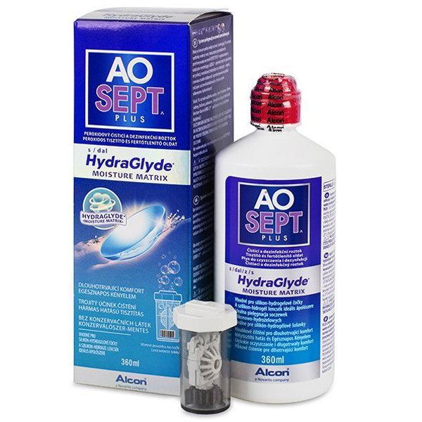 Раствор Aosept Plus HydraGlyde 360 мл Alcon