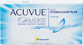 Контактные линзы Johnson & Johnson Acuvue Oasys with Hydraclear Plus