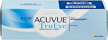 Контактные линзы Johnson & Johnson 1-Day Acuvue TruEye