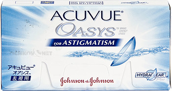 Контактные линзы Johnson & Johnson Acuvue Oasys for Astigmatism with Hydraclear Plus