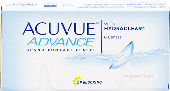 Контактные линзы Johnson & Johnson Acuvue Advance with Hydraclear