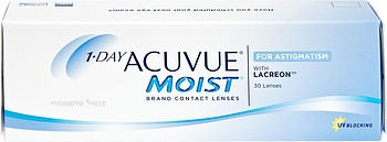 Контактные линзы Johnson & Johnson 1-Day Acuvue Moist for Astigmatism