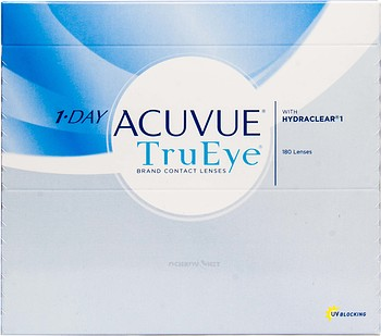 Контактные линзы Johnson & Johnson 1-Day Acuvue TruEye 180 линз