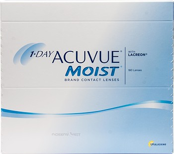 Контактные линзы Johnson & Johnson 1-Day Acuvue Moist 180 линз