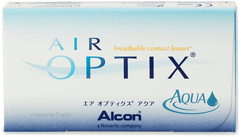 Контактные линзы Alcon Air Optix Aqua 3 линзы