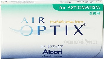 Контактные линзы Alcon Air Optix for Astigmatism