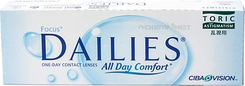 Контактные линзы Alcon Focus Dailies All Day Comfort TORIC
