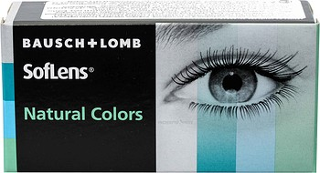 Контактные линзы Bausch + Lomb SofLens Natural Colors 2 линзы