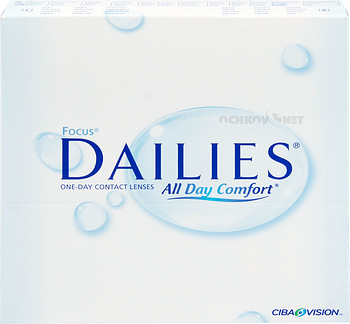 Контактные линзы Alcon Focus Dailies All Day Comfort 90 линз