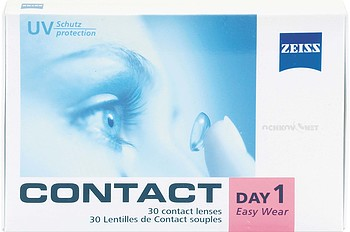 Контактные линзы Carl Zeiss Contact Day 1