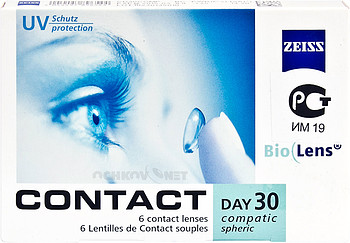 Контактные линзы Carl Zeiss Contact Day 30 Compatic