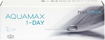 Контактные линзы Pegavision AQUAMAX 1-DAY