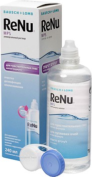 Растворы Bausch + Lomb ReNu Multi-Purpose Solution 240 мл + контейнер