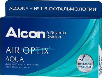 Купить контактные линзы AIR OPTIX AQUA (6 линз) недорого | Оптические На месяц купить недорого в интернет-магазине «Ochkov.net» | Доставка контактных линз и очков по Москве и России