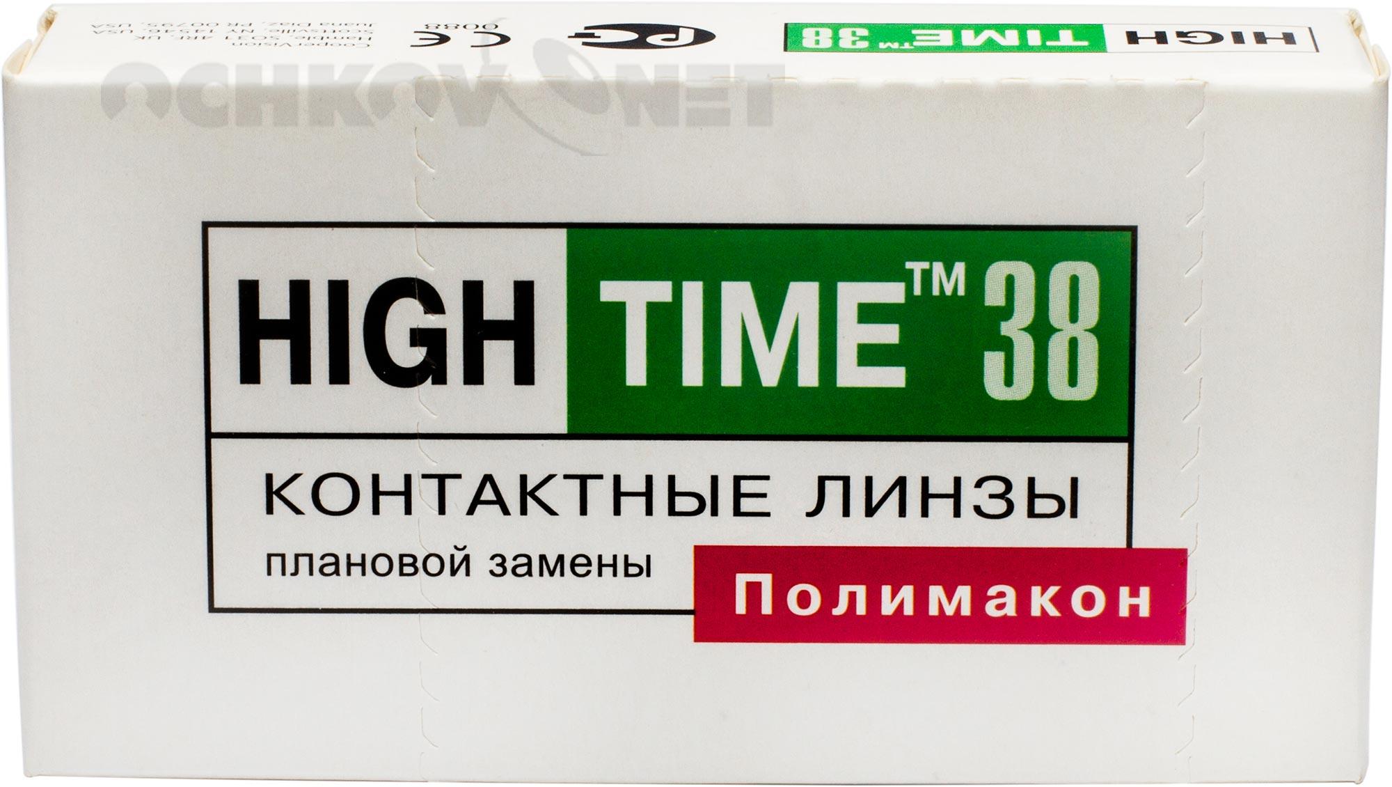Контактные линзы High Time 38 4 линзы (упаковка)