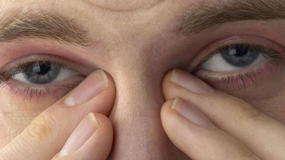 Глаза пьяного человека