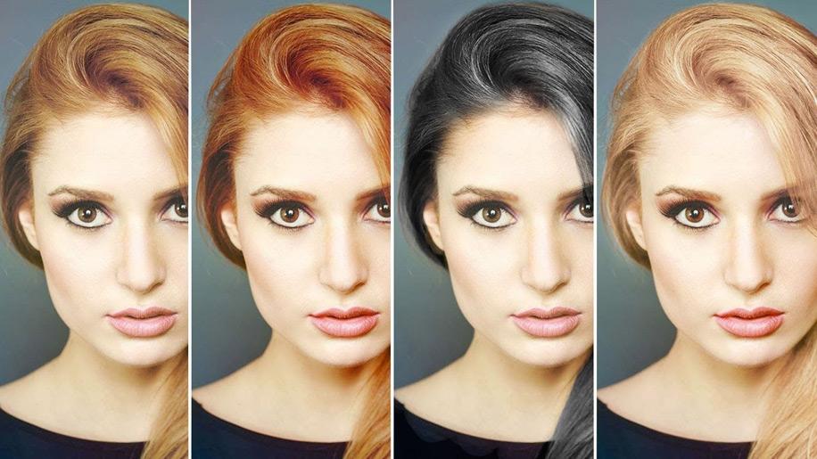 Подбираем цвет волос под цвет глаз