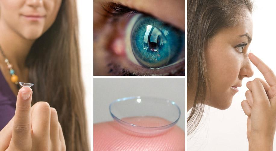 Вместе с данными оптическими изделиями в органы зрения могут проникать загрязнения