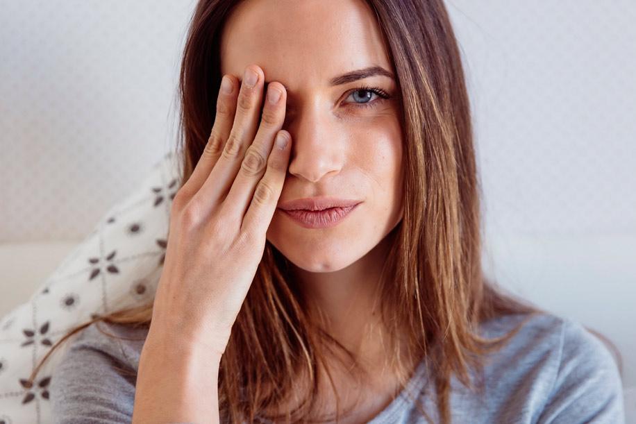 Растяжение сетчатки глаза причины