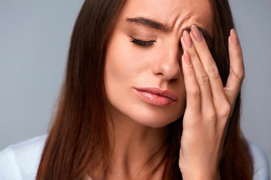 Отек прямых мышц глаз
