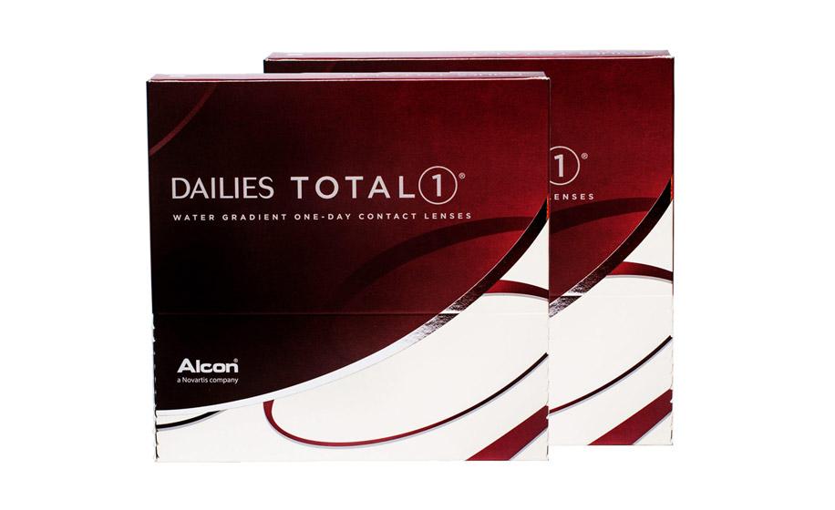 создании линз последнего поколения Dailies Total1