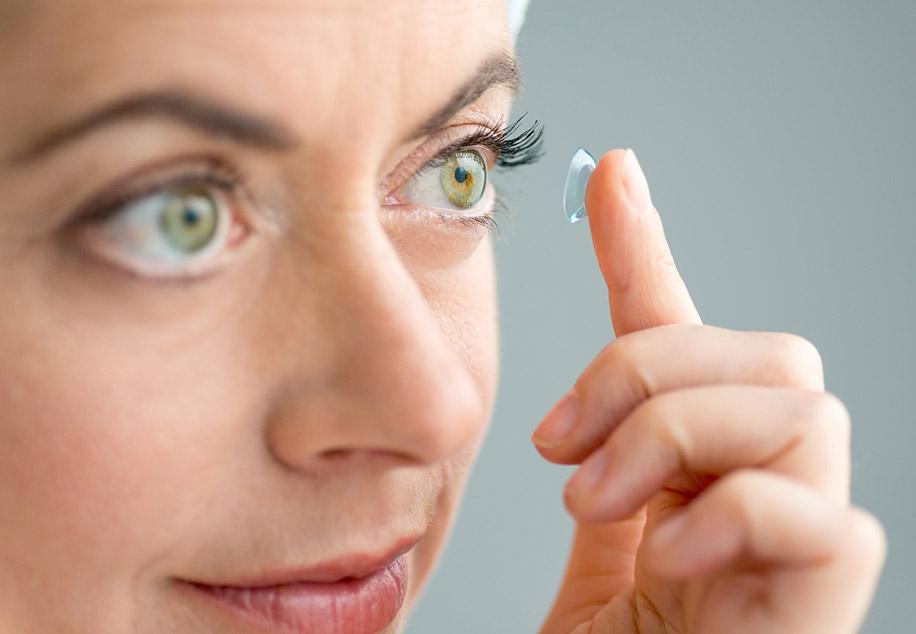 Контактные линзы против симптомов аллергии