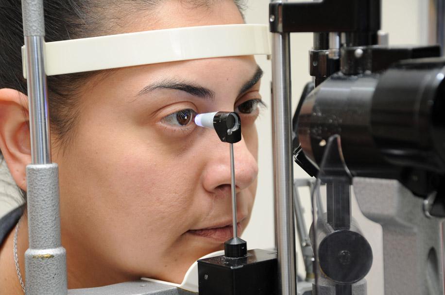 Бесконтактные методы измерения внутриглазного давления