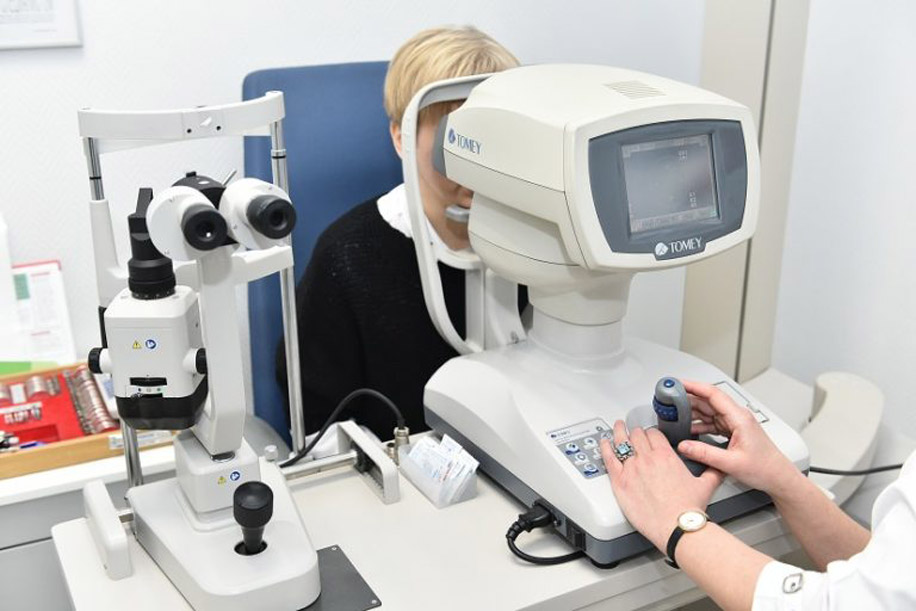 Измерение внутриглазного давления с помощью ОКТ