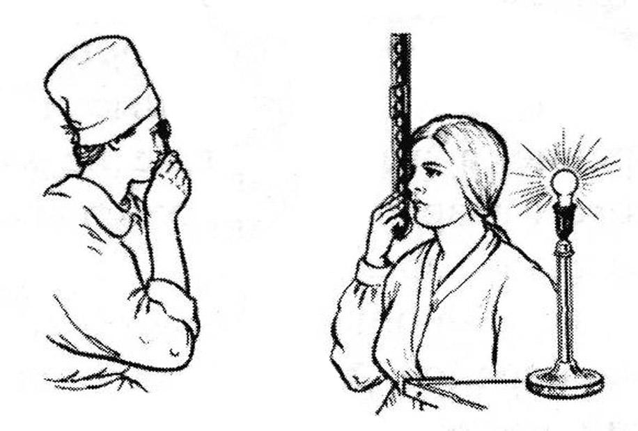 Процедура скиаскопии