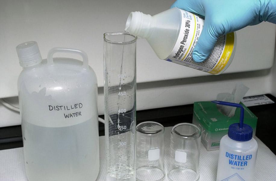 Лучшие растворы на основе перекиси водорода