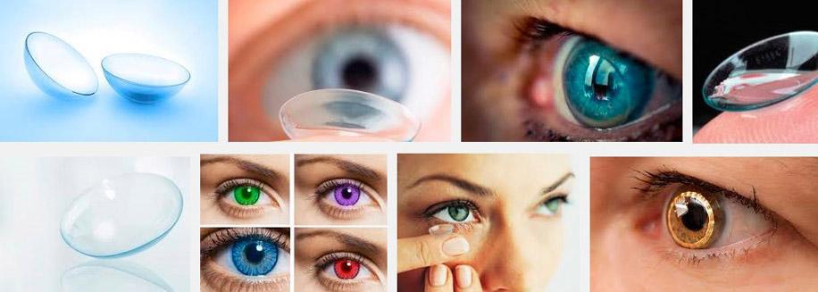 Мягкие контактные линзы, скрывающие дефекты глаз