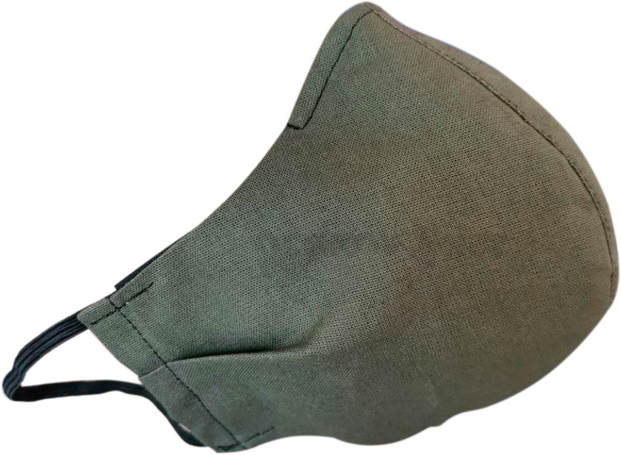 Маска защитная Novo Оливковая + 4 сменных