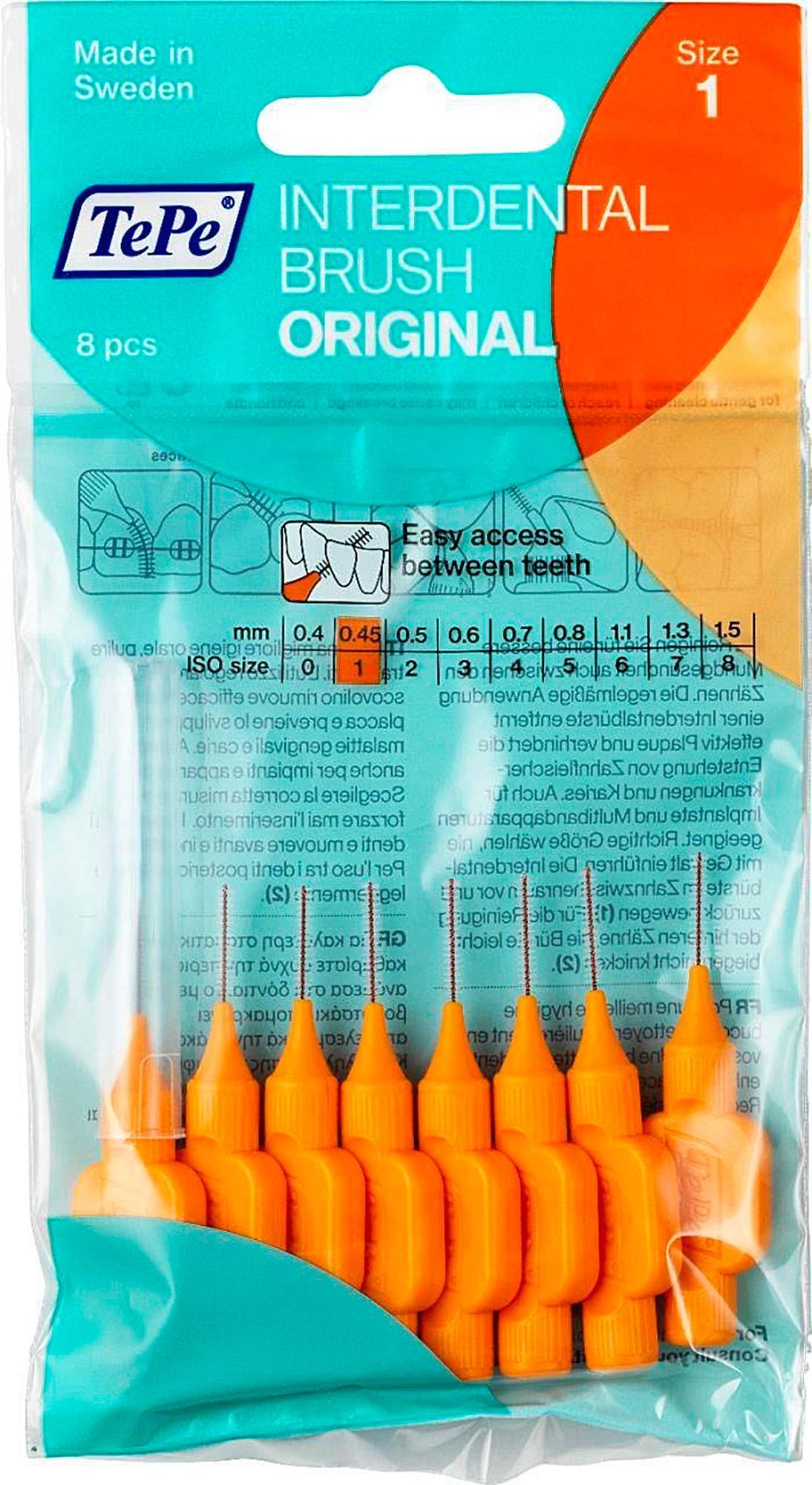 Межзубные ёршики TePe Original Оранжевый