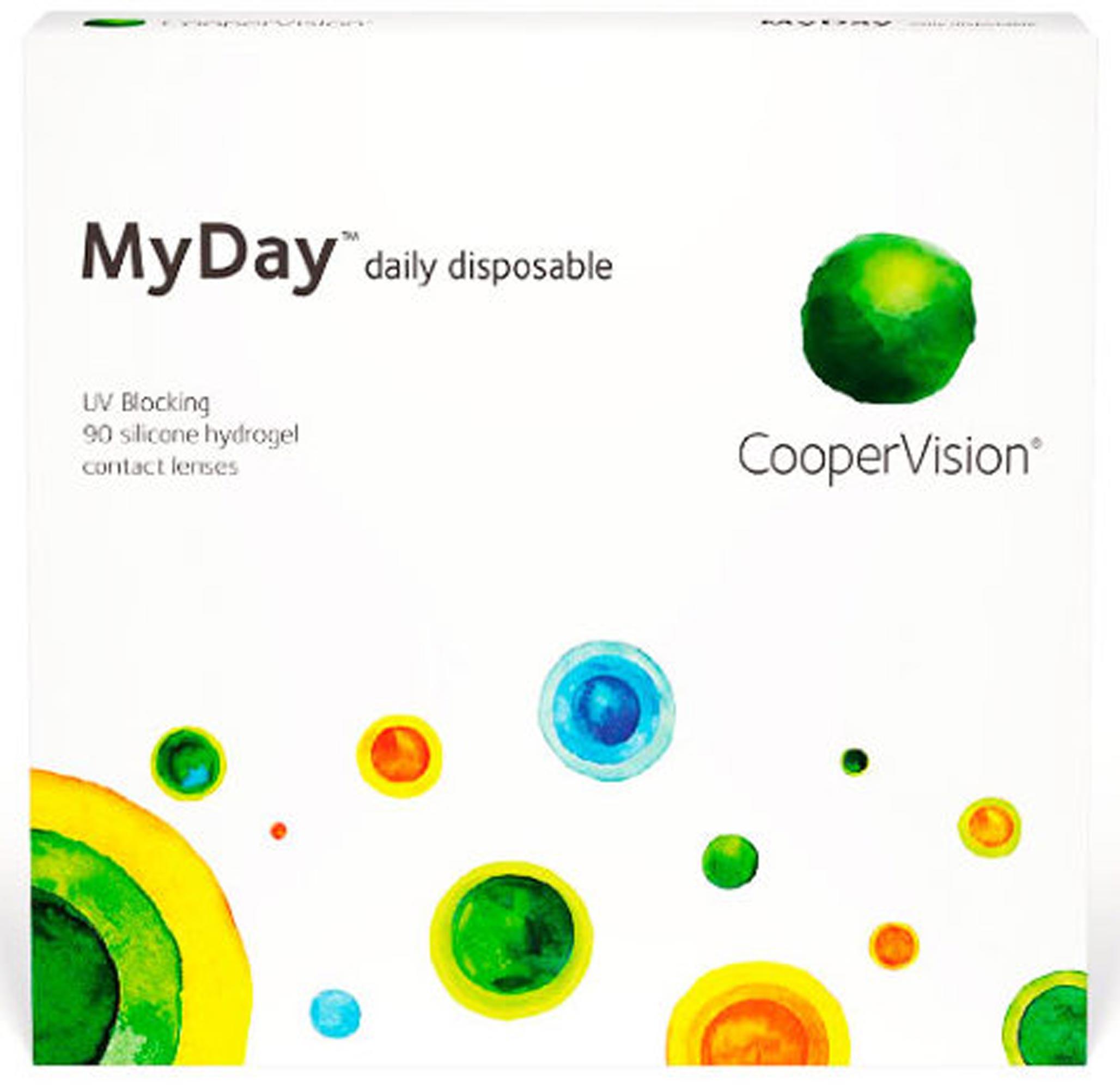 Контактные линзы  MyDay daily disposable
