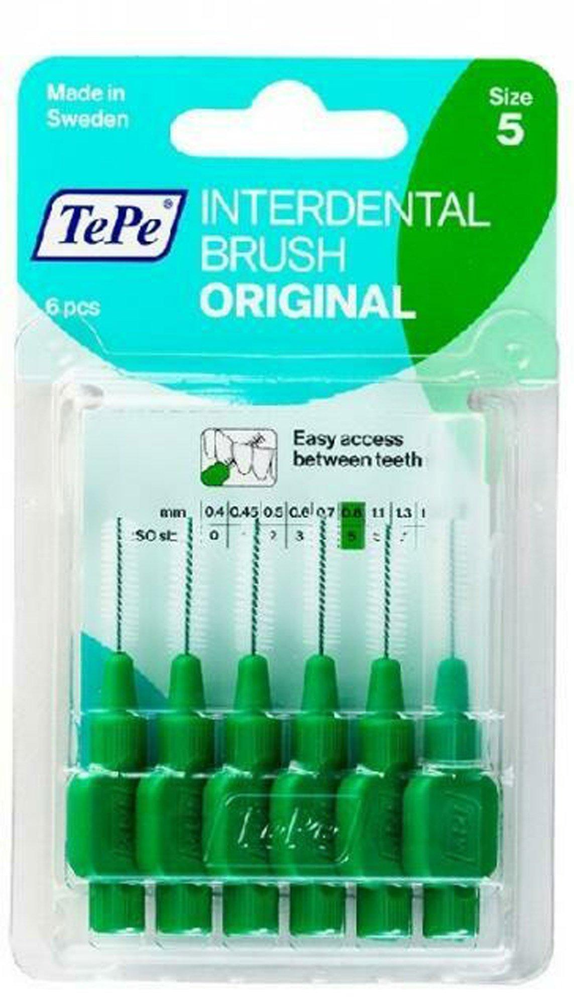Межзубные ёршики TePe Original Зелёный 6
