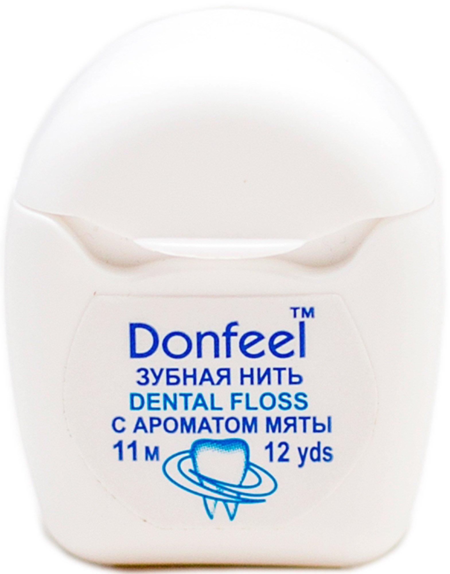 Нить вощеная Donfeel Mini dental floss