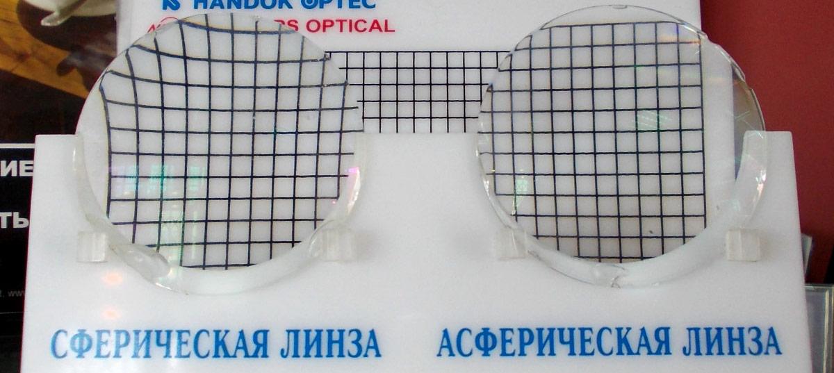 Асферические контактные линзы — наиболее удобный вид оптики.