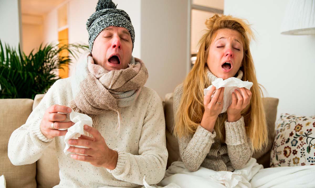 для гриппа и простуды он составляет обычно от нескольких часов до трех дней