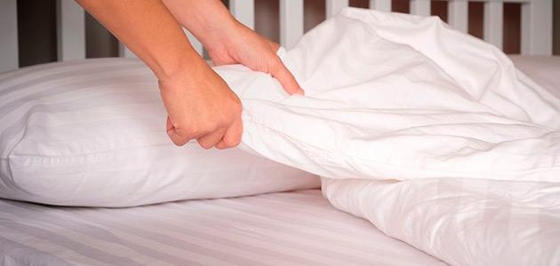 чаще меняйте постельное белье