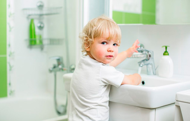 приучить детей с раннего возраста к гигиене