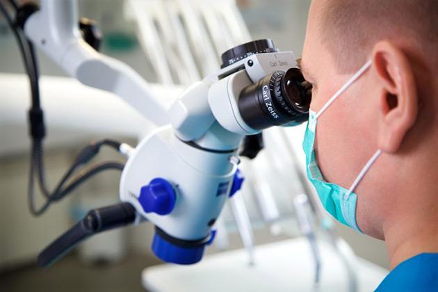 микроскопический осмотр зрительных органов