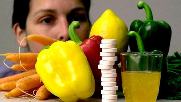 недостаток витаминов, анемические состояния