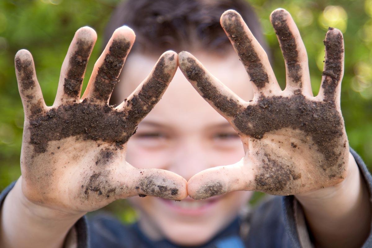 грязь, ослаблена имунная система